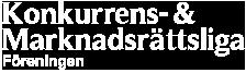 KMF – Konkurrens & Marknadsrättsliga Föreningen logo